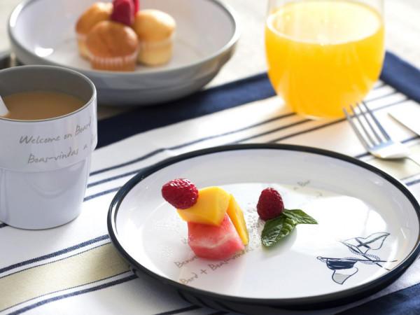 Piatto Dessert in Melanina Antiscivolo 6 Pezzi Serie WELCOME ON BOARD di Marine Business - Offerta di Mondo Nautica 24