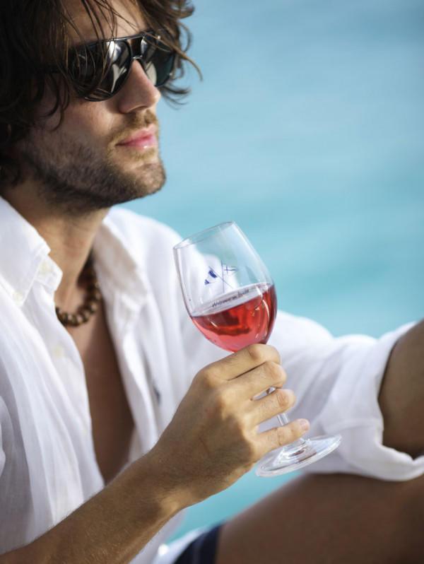Coppa Vino Antiscivolo 6 Pezzi Serie WELCOME ON BOARD di Marine Business - Offerta di Mondo Nautica 24