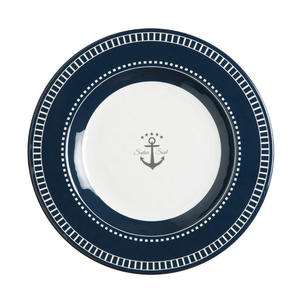 Piatto Dessert Infrangibile in Melanina 6 pz. serie SAILOR SOUL di Marine Business - Offerta di Mondo Nautica 24