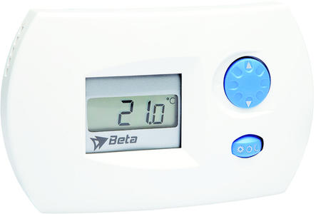 Beta EL0206 Stand alone Thermostat/Hygrometer - White BT90501231