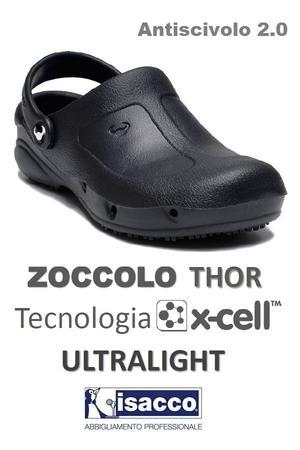 ZOCCOLO THOR ULTRALEGGERO TECNOLOGIA XCELL NERO