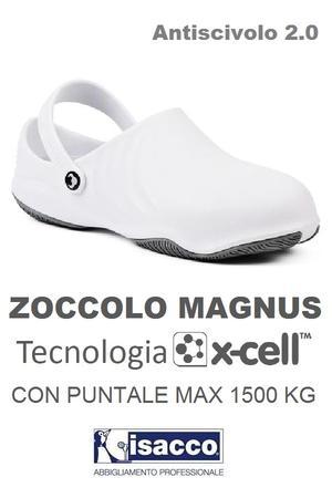 ZOCCOLO CON PUNTALE MAGNUS TECNOLOGIA XCELL BIANCO