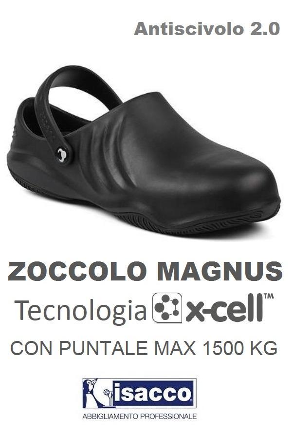 ZOCCOLO CON PUNTALE MAGNUS TECNOLOGIA XCELL NERO