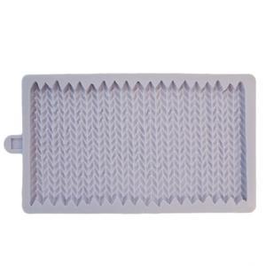 stampo silicone effetto maglione lana Karen Davies