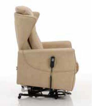 Poltrona Relax Jenny con 2 Motori e Alzapersona 0 Gravity e Pediera Estensibile Posizione Letto Iva Agevolata 4%