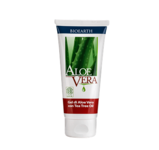 Bioearth - Gel di Aloe vera con Tea tree oil