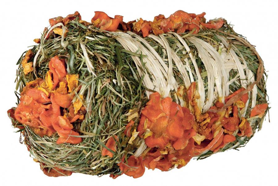 Trixie Balla di fieno con zucca e carota PURE NATURE