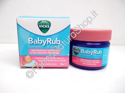 Vicks BabyRub Unguento per Bambini
