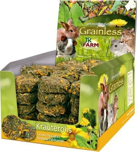 Jr Farm Grainless Rotoli di Tarassaco e Petali di Girasole
