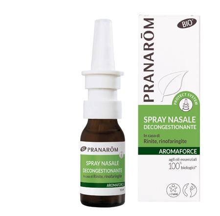 Pranarom - Spray nasale Aromaforce bio