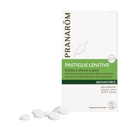 Pranarom - Pastiglie lenitive Aromaforce