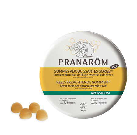 Pranarom - Aromaforce Gomme miele e limone bio