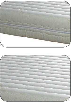 Materasso Water Foam Mod Ares Singolo da Cm 80x190/195/200 Poliuretano Espanso Antiacaro Sfoderabile Altezza Cm. 20