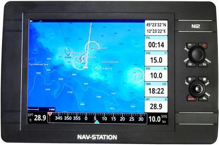 "GPS nautico Nav-Station N12: app ""Mirror Control"" e ""Captain Cloud"" - Offerta di Mondo Nautica  24"