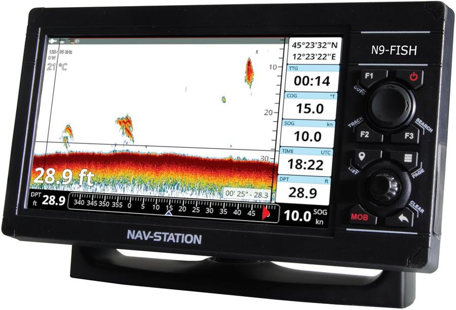 GPS nautico Nav-Station N9-Fish plotter, ecoscandaglio-fishfinder e WiFi - Offerta di Mondo Nautica  24
