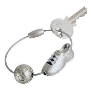 """Portachiavi Troika """"Kick!"""" - scarpa e pallone da calcio"""