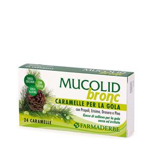 Farmaderbe - Caramelle balsamiche Mucolid bronc