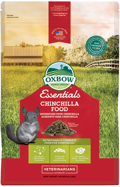 Oxbow Essential Chinchilla Food - 4,5 kg.
