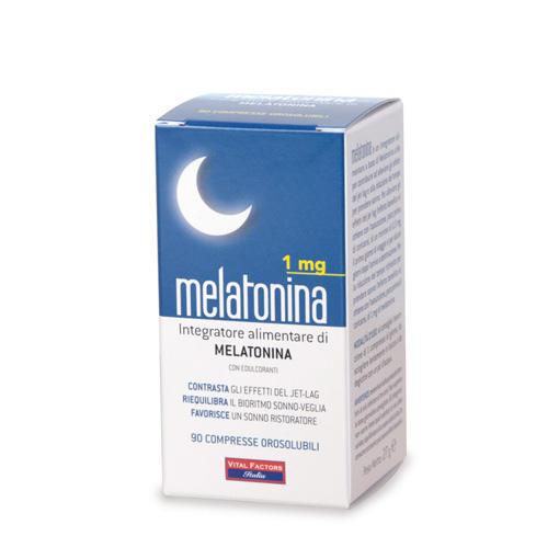 Farmaderbe - Melatonina compresse orosolubili