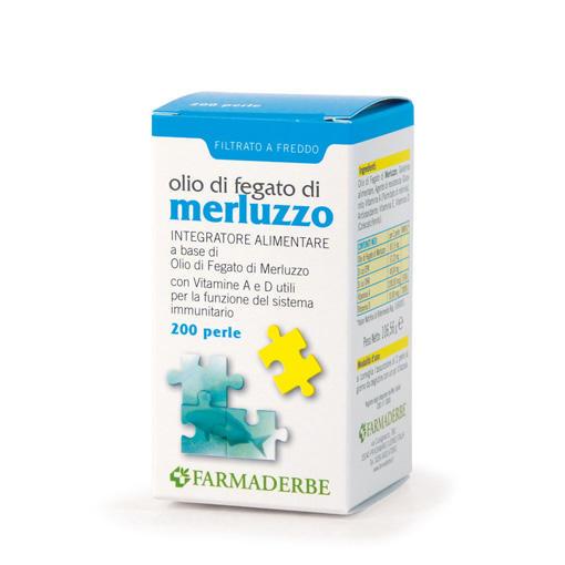 Farmaderbe - Olio di fegato di merluzzo