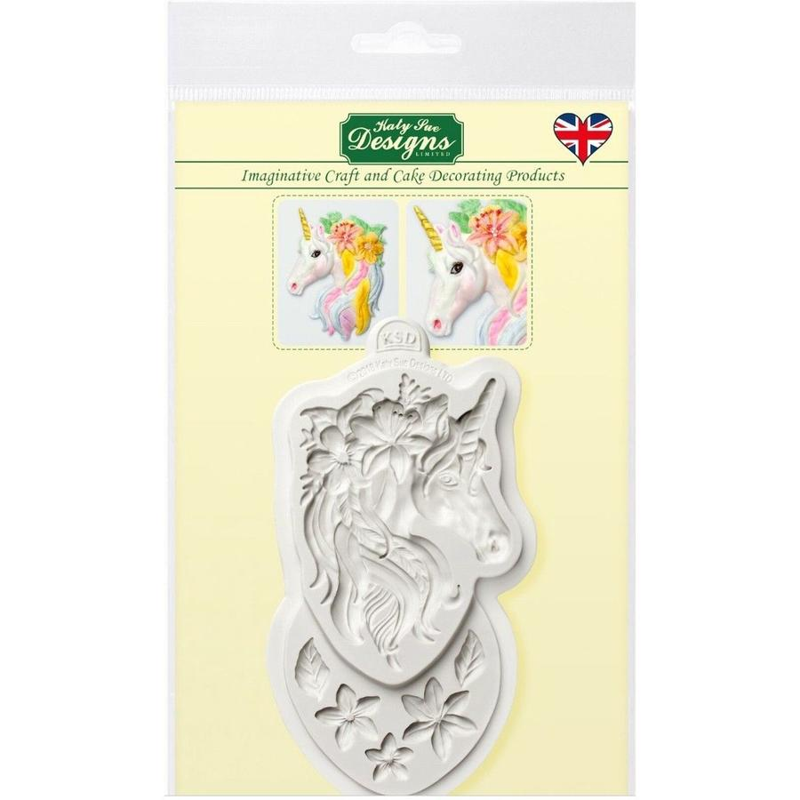 stampo silicone busto unicorno Katie Sue
