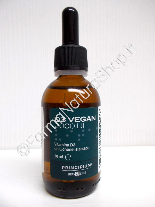 PRINCIPIUM D3 VEGAN 2000 UI  Bios Line  50 ml