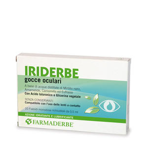 Farmaderbe - Iriderbe gocce oculari