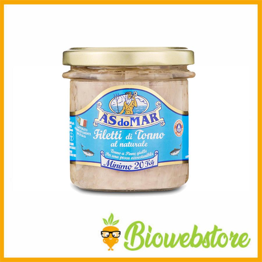 Asdomar Filetti tonno al naturale - 150 g