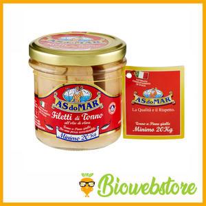 Asdomar Filetti di Tonno all'olio di oliva - 150 g
