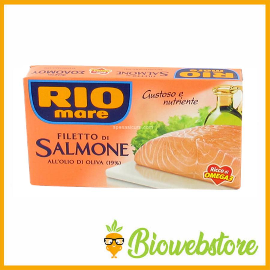 Rio Mare filetto salmone olio oliva - 125 g