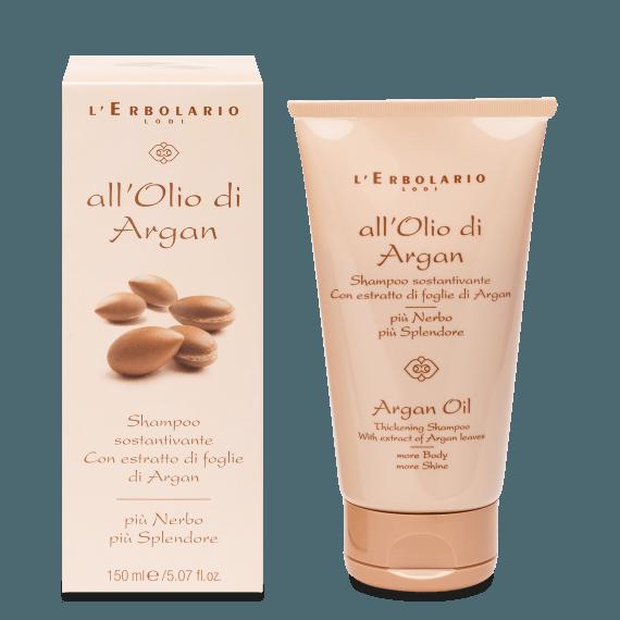 L'Erbolario - All'Olio di Argan Shampoo sostantivante