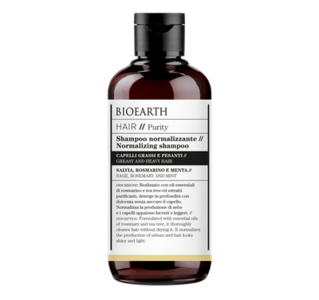 Bioearth - Shampoo normalizzante Hair purity