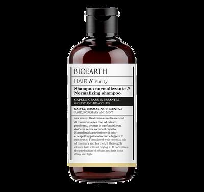 Bioearth - Shampoo normalizzante Hair purity