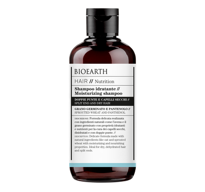 Bioearth - Shampoo idratante Hair nutrition