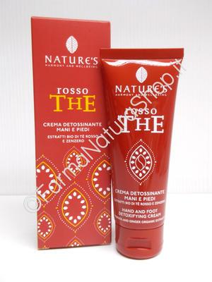 NATURE'S Rosso The Crema Detossinante Mani e Piedi