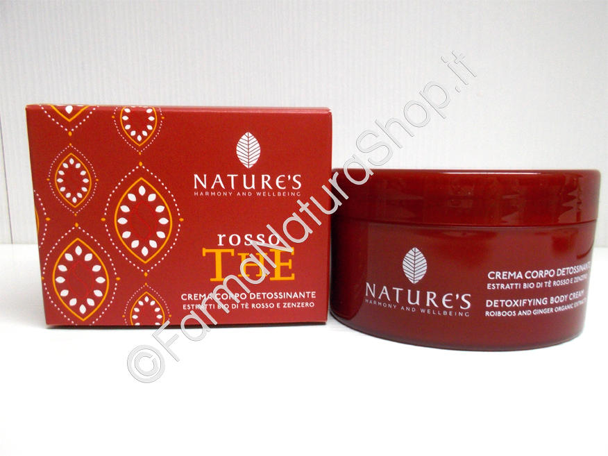 NATURE'S Rosso The Crema Corpo Detossinante