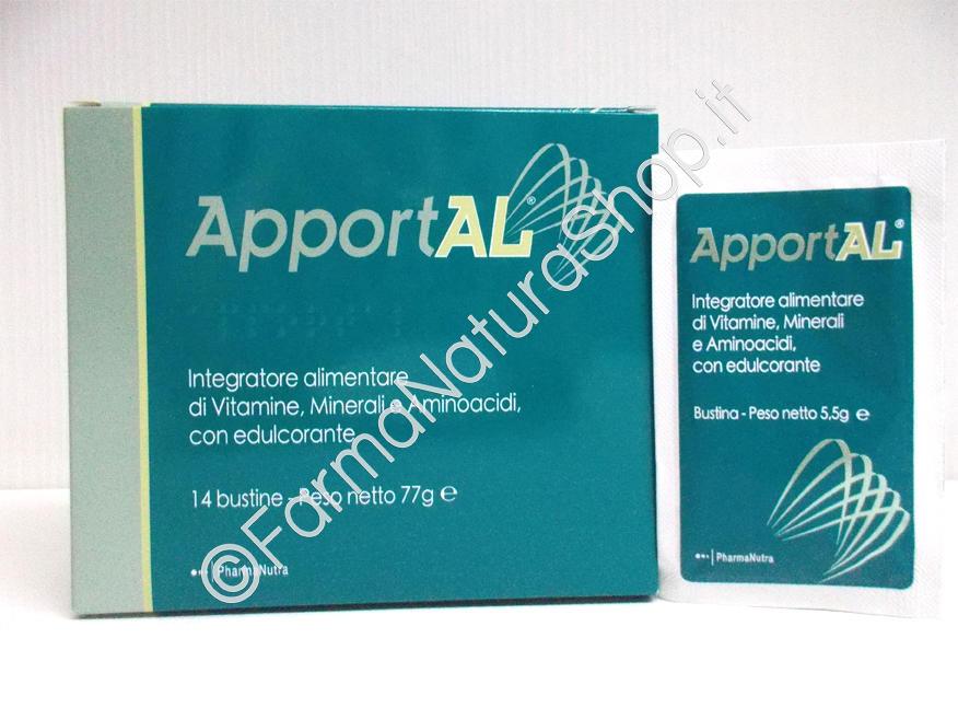 PharmaNutra APPORTAL® Integratore di Vitamine, Minerali e Aminoacidi