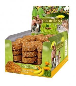 Jr Farm Grainless Rotoli di Banana  e Calendula