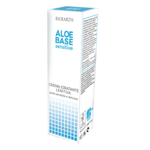 Bioearth - Crema idratante lenitiva Aloebase sensitive