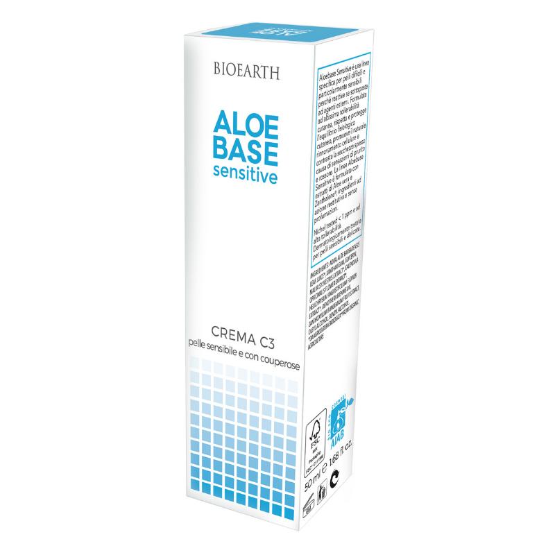 Bioearth - Crema C3 Aloebase sensitive