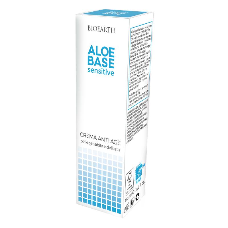 Bioearth - Crema antiage Aloebase sensitive