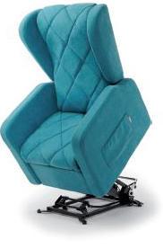 Poltrona Relax Compact con Seduta Ribassata completa di Alzapersona Kit Roller 2 Motori Prodotto Italiano