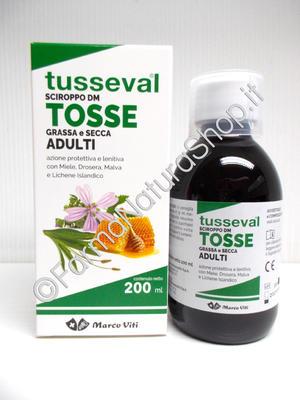 TUSSEVAL Sciroppo TOSSE GRASSA E SECCA Adulti