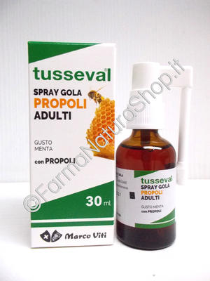 TUSSEVAL SPRAY GOLA PROPOLI Adulti