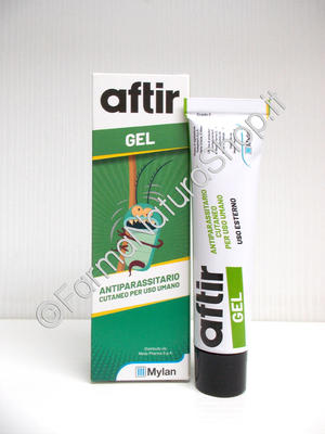 AFTIR GEL Antiparassitario Pediculosi
