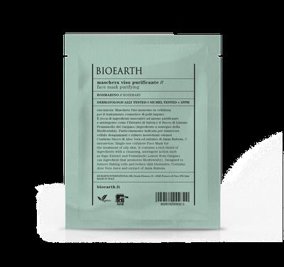 Bioearth - Maschera purificante in cellulosa