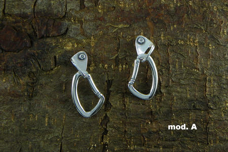 Earrings Carabiner + Spit