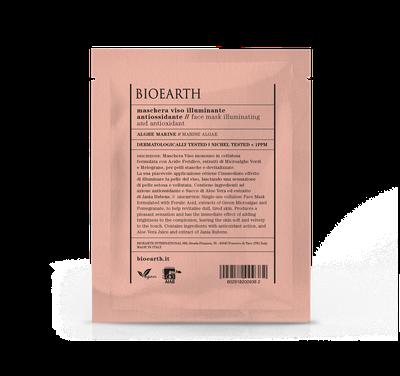 Bioearth - Maschera illuminante antiossidante in cellulosa