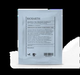 Bioearth - Maschera idratante lenitiva in cellulosa