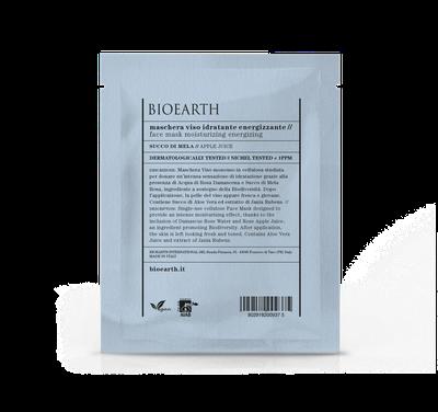 Bioearth - Maschera idratante energizzante in cellulosa